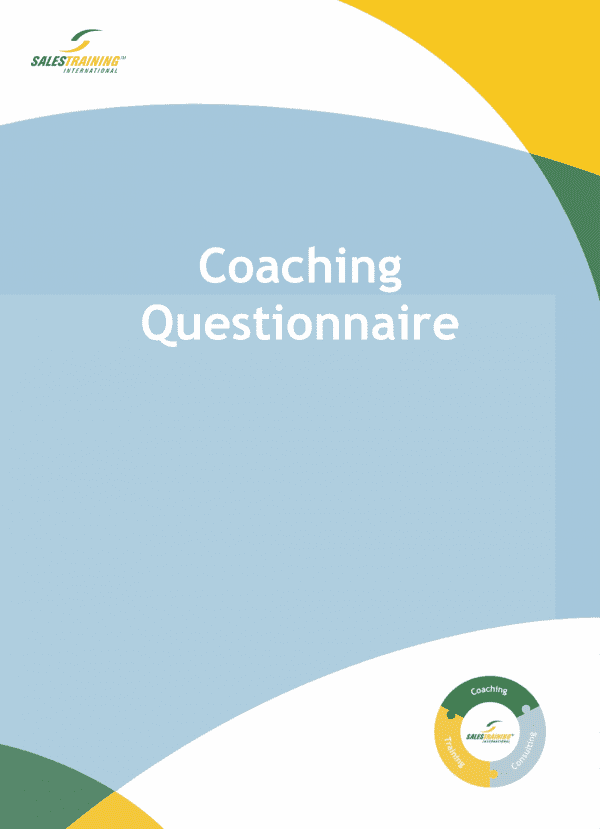 Coaching Questionaire