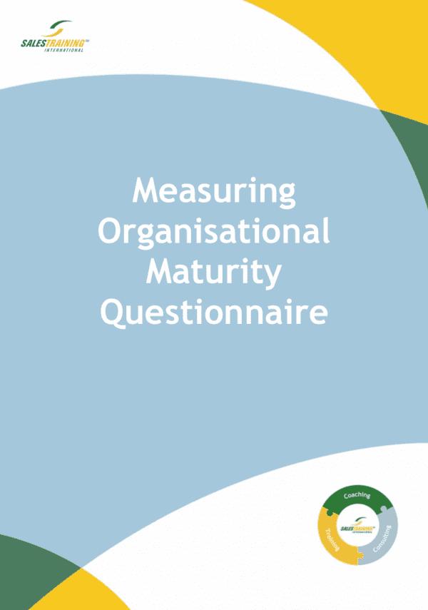 Measuring Organisational Maturity