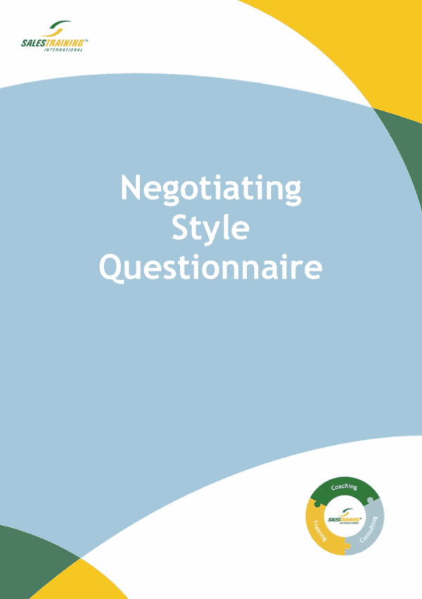 Negotiating Style