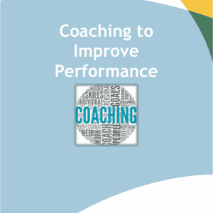Coaching to improve performance