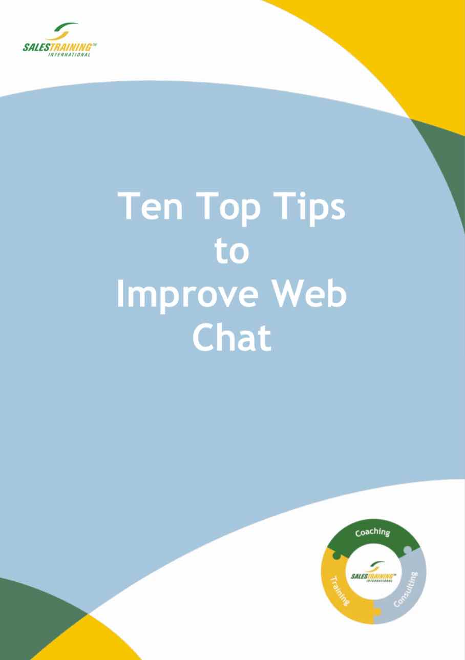 Ten Top Tips to Improve Web Chat