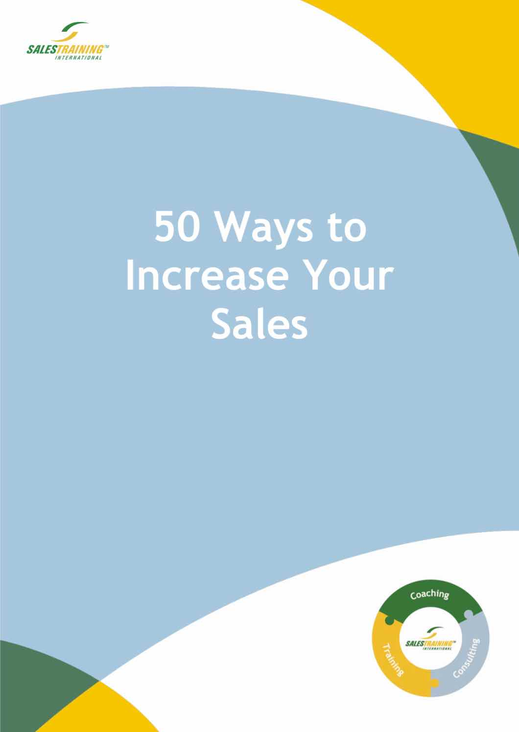 50 Ways to Increase Your Sales