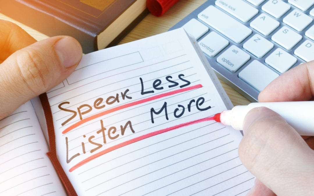 10 tips to help you develop effective listening skills